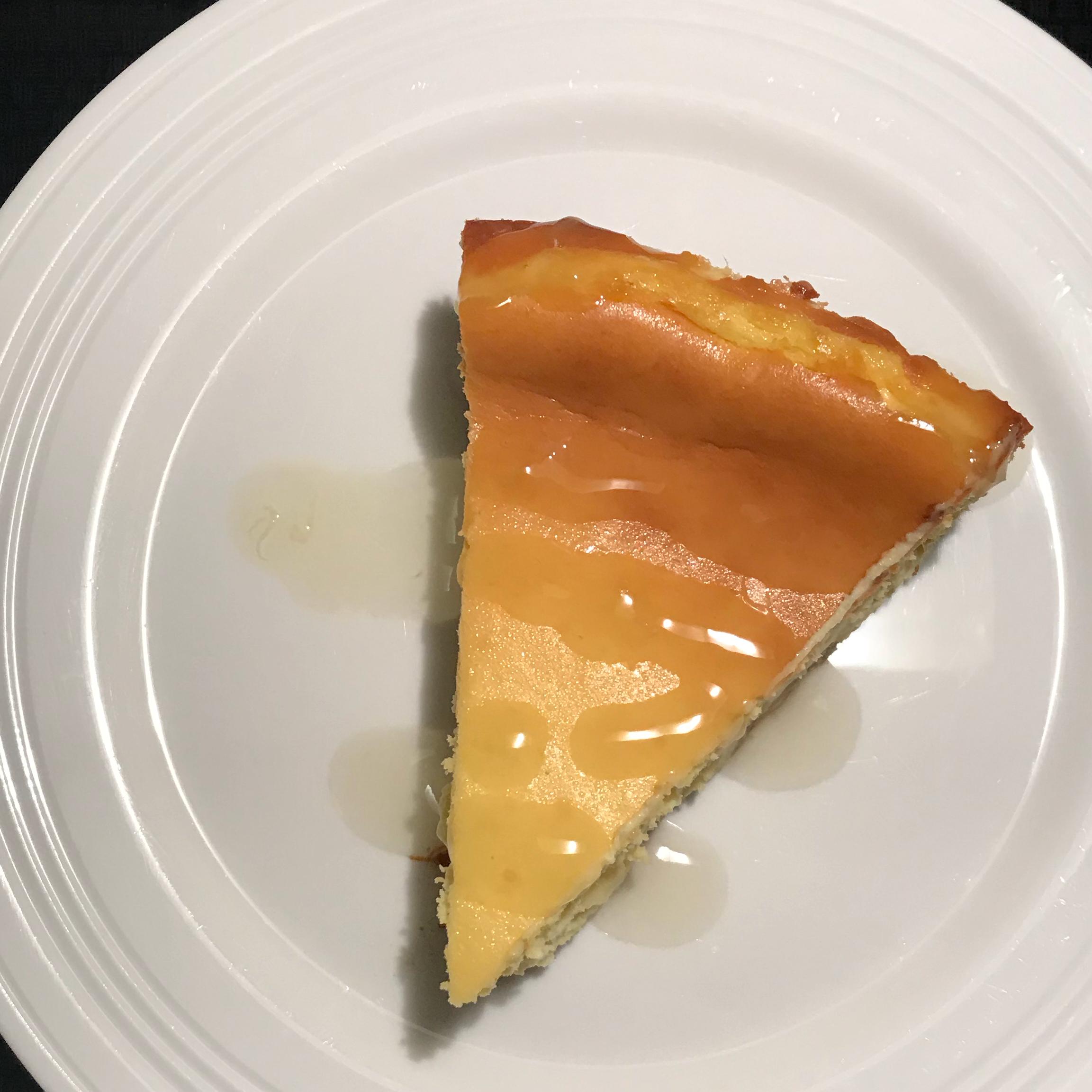 Mango Cheesecake with Sweet Ginger Crust SwtToothPriya
