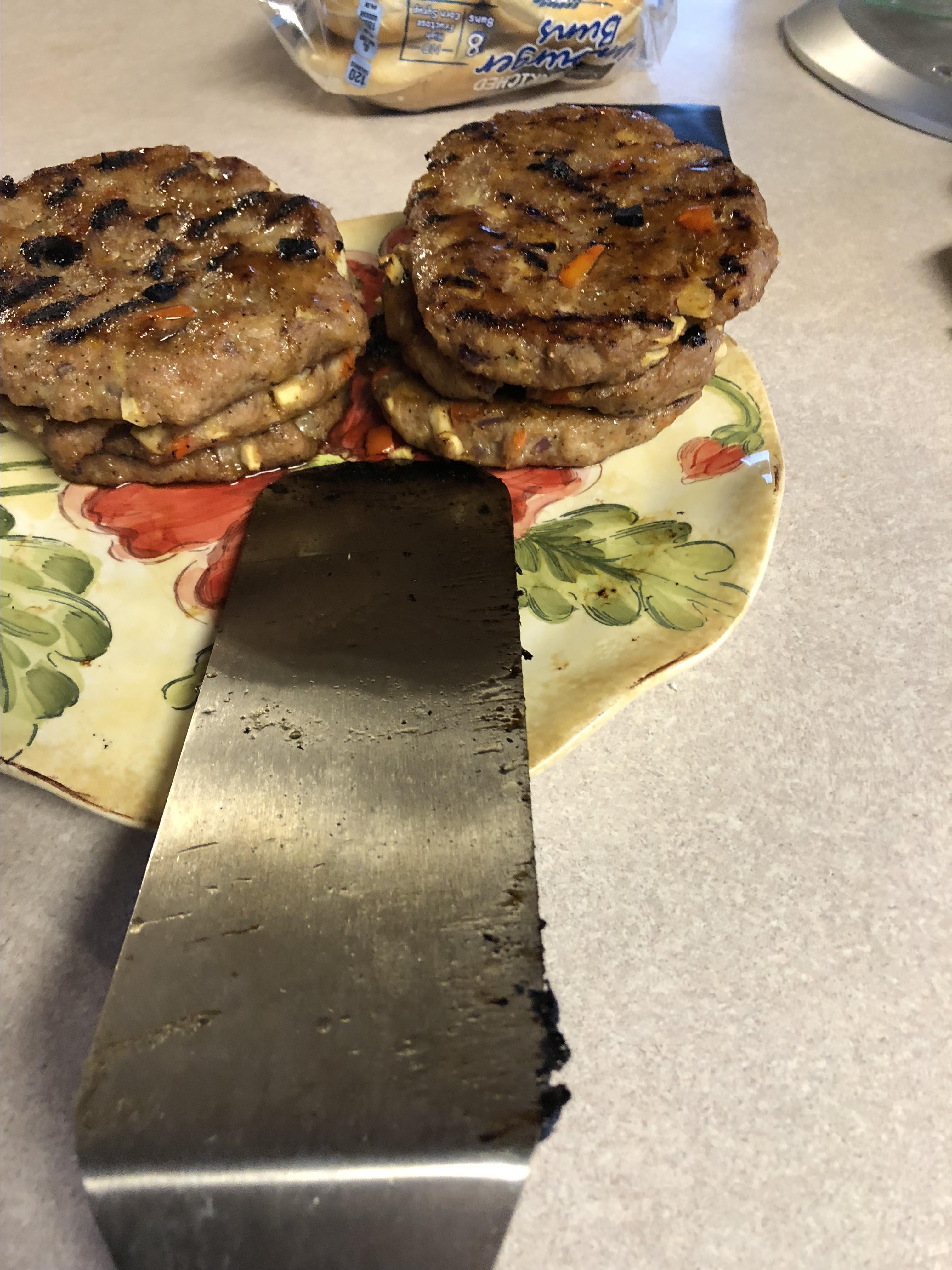 Asian Pork Burger Jody Steed