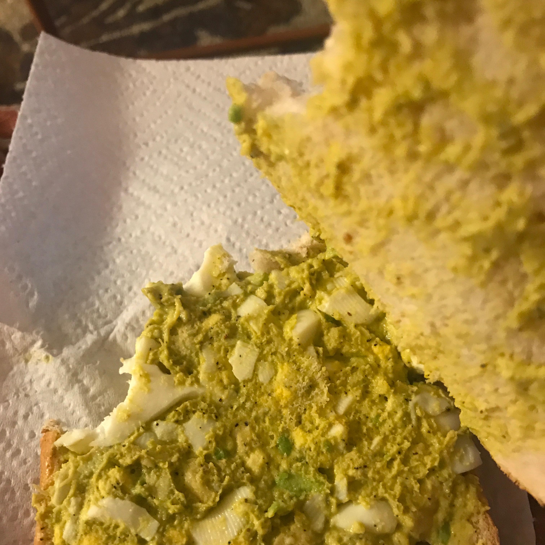 Delicious Avocado Egg Salad Harley Nicole Rudder
