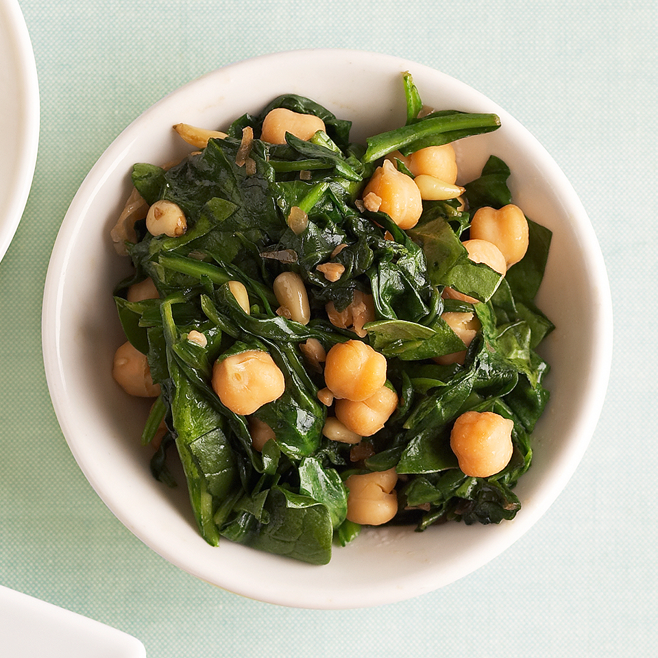 Spinach and Garbanzo Beans Allrecipes Trusted Brands