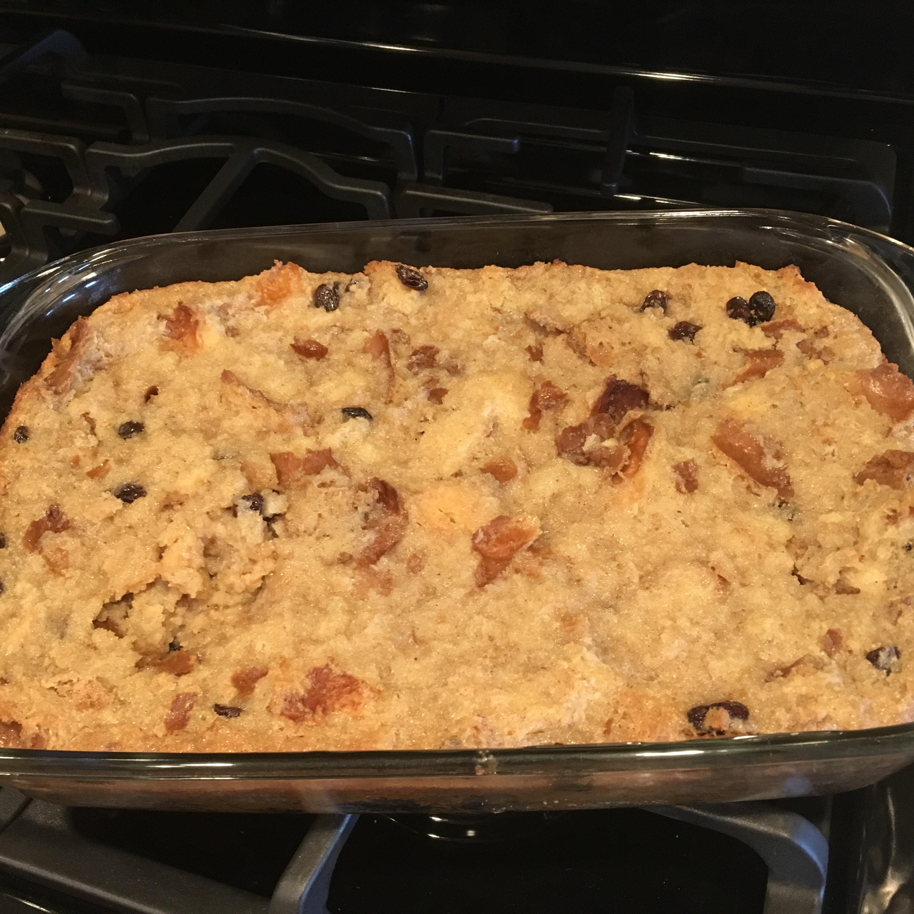 Bread Pudding with Praline Sauce Loetta