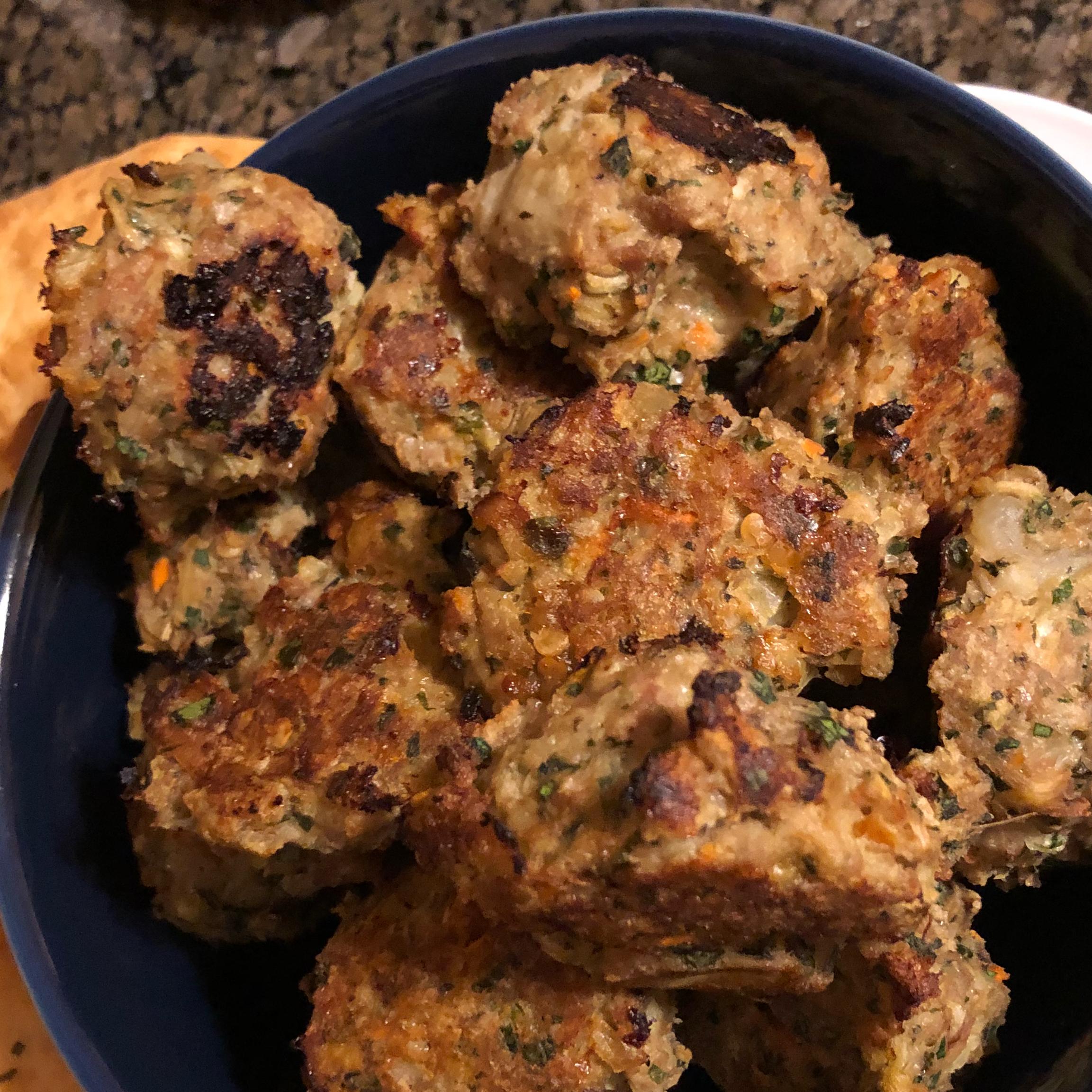 Eggplant Meatballs Met