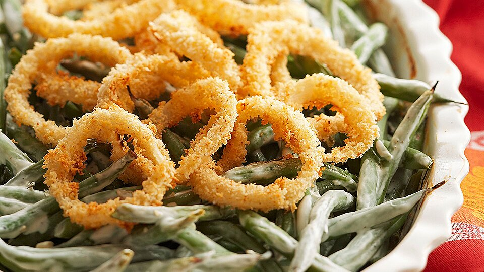 Fried Onion Rings Recipe Eatingwell