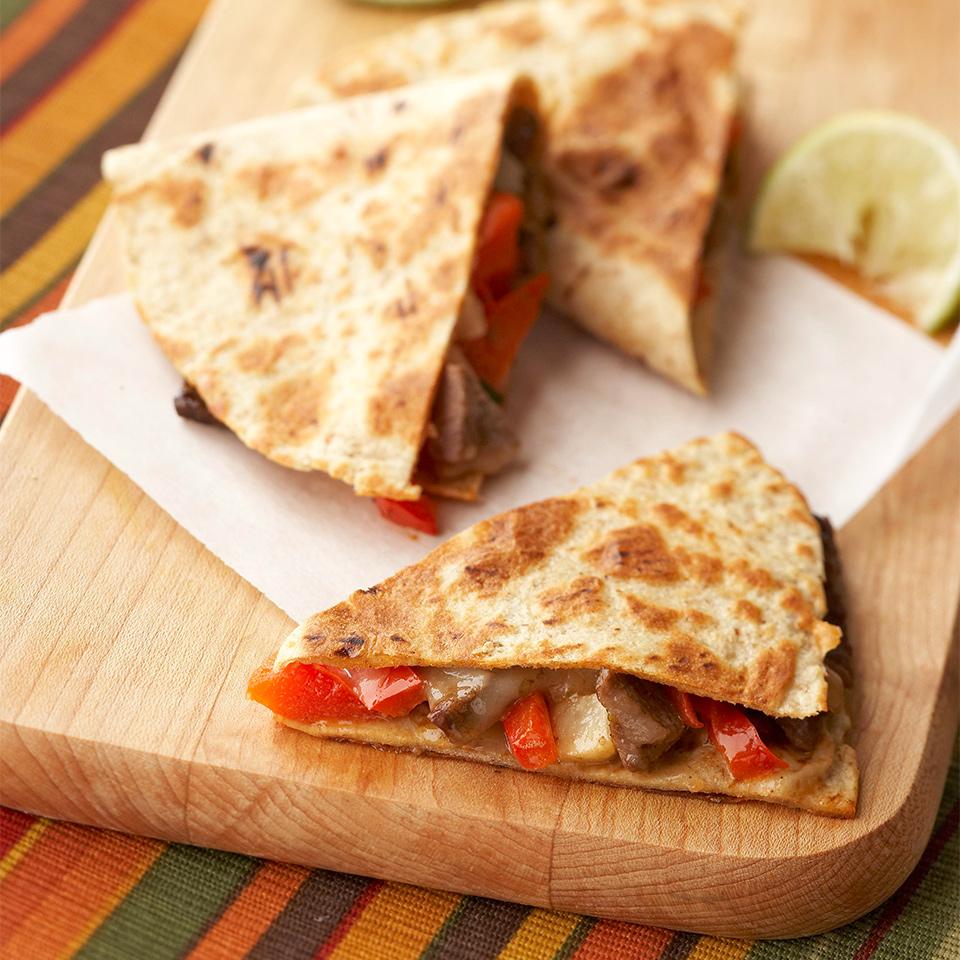 Pepper-Steak Quesadillas Trusted Brands