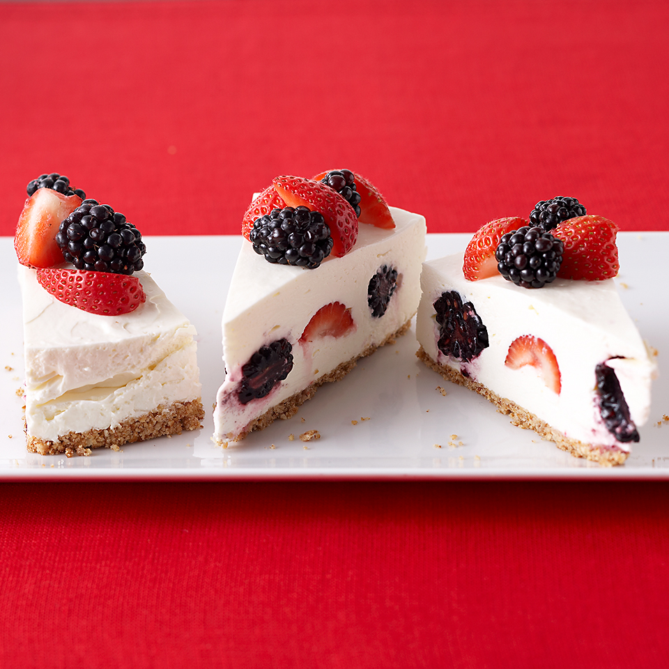 Berry-Topped  Cheesecake Diabetic Living Magazine