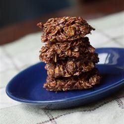 No-Bake Chocolate-Oatmeal Drop Cookies