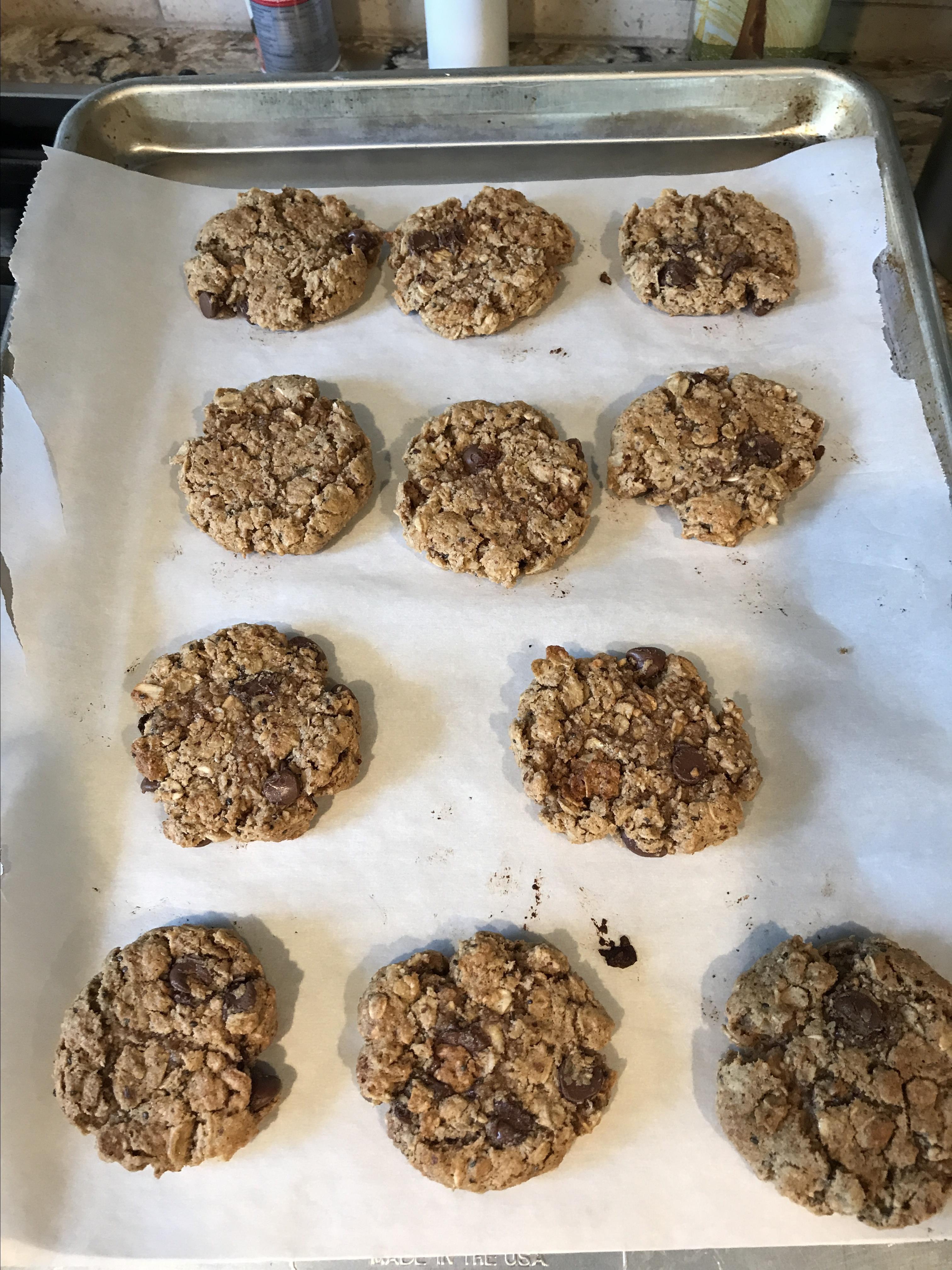 Whole Grain Breakfast Cookies Heidihausfrau