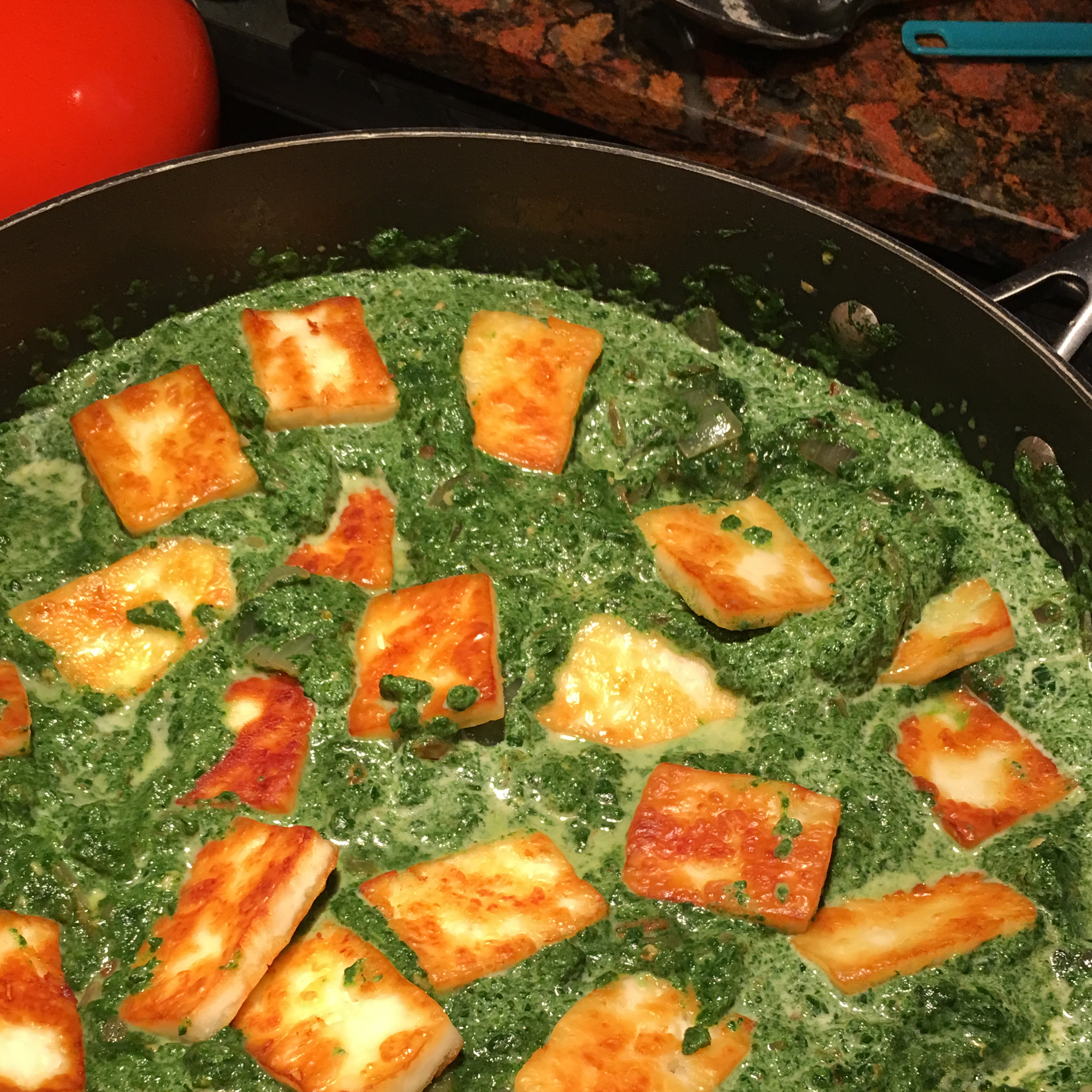 Authentic Saag Paneer Michele Blau