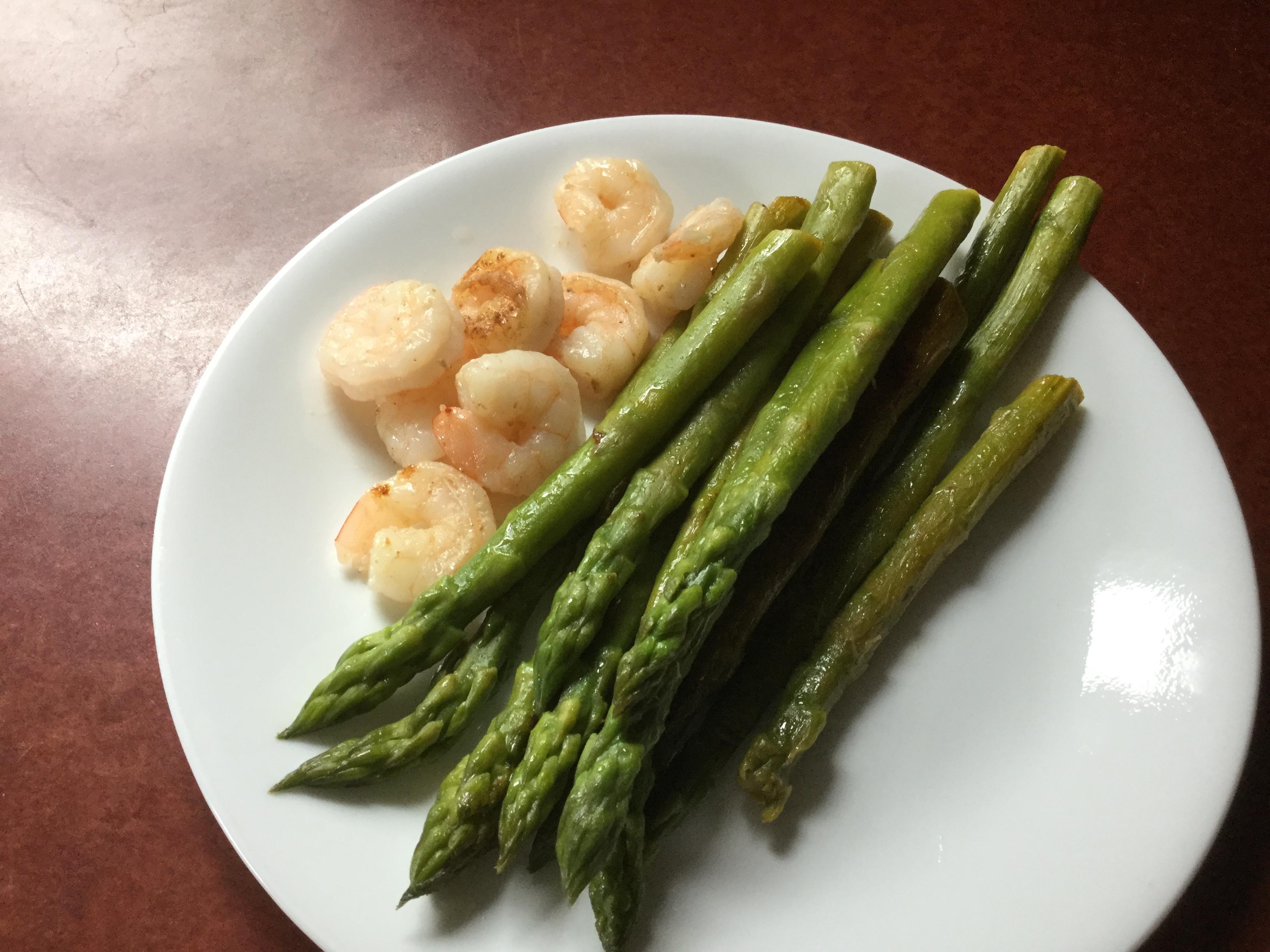 Pan-Fried Minty Asparagus