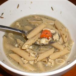 Rosemary Chicken Noodle Soup kellieann