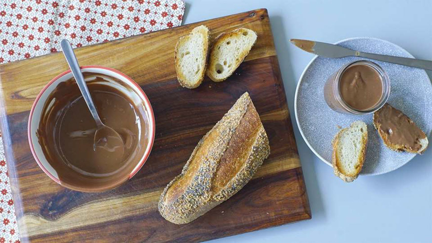Chocolate Tahini Spread