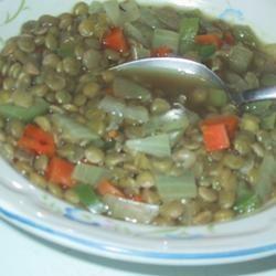 Spicy Lentil Vegetable Soup sueb