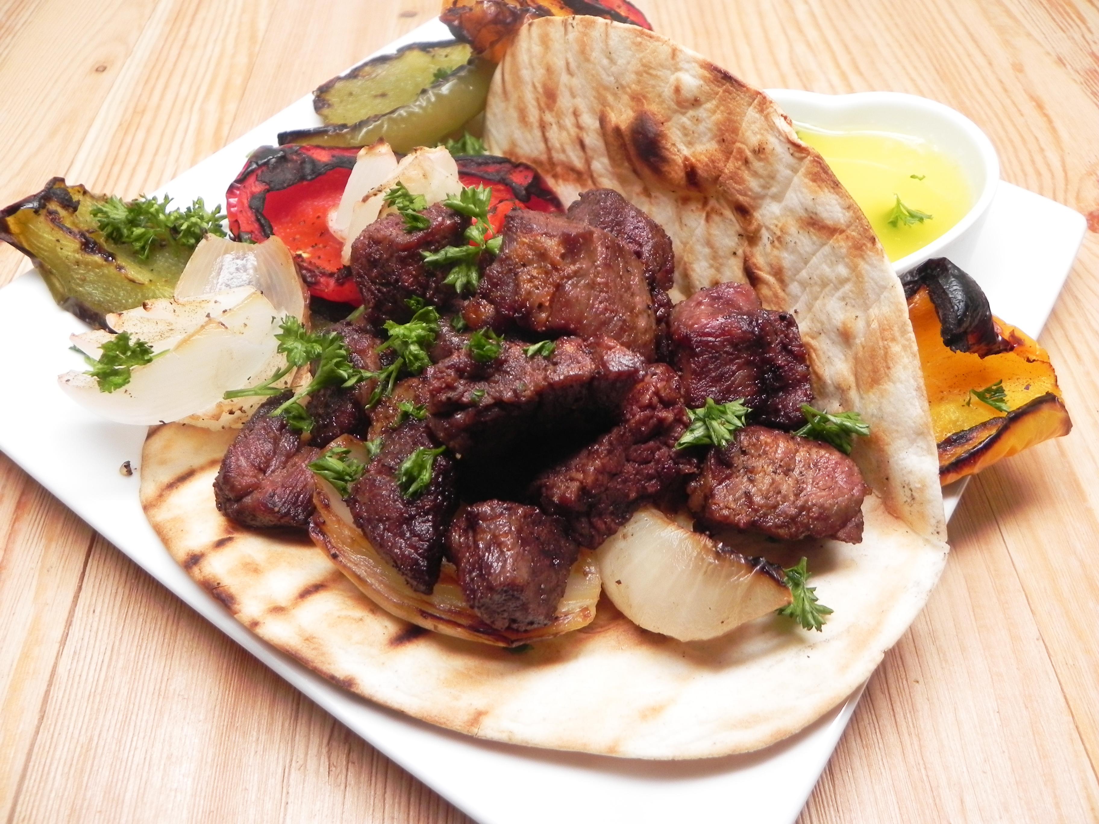 Bohemian Kebab Wraps