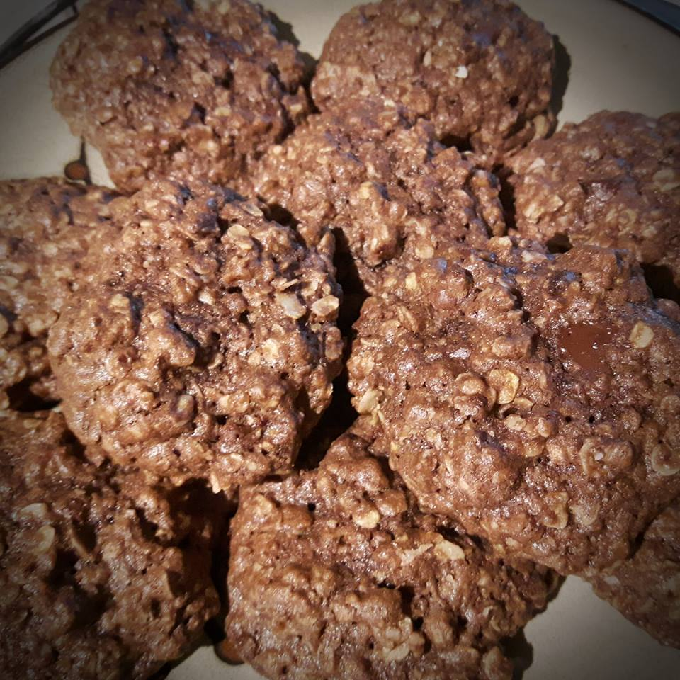 Chewy Double-Chocolate Lactation Cookies Maevyn