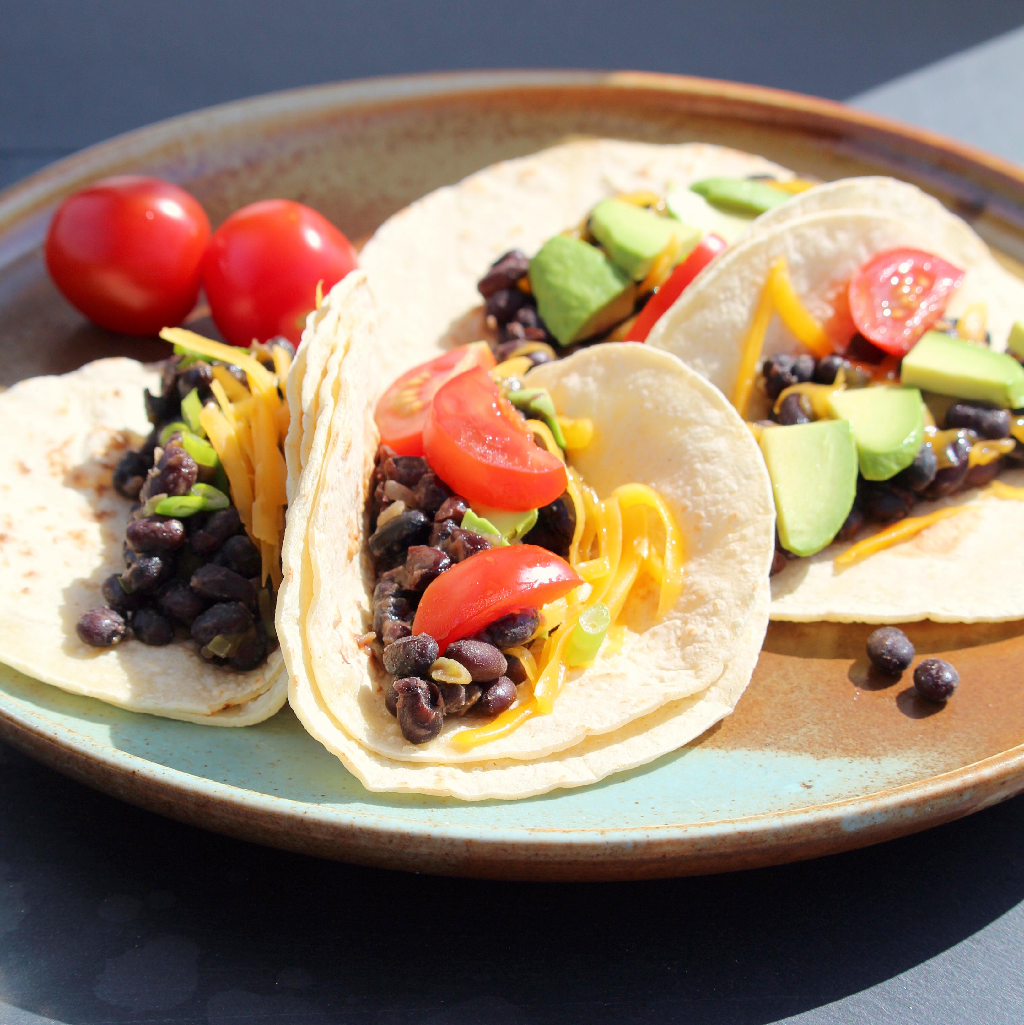 Black Bean Tacos Buckwheat Queen