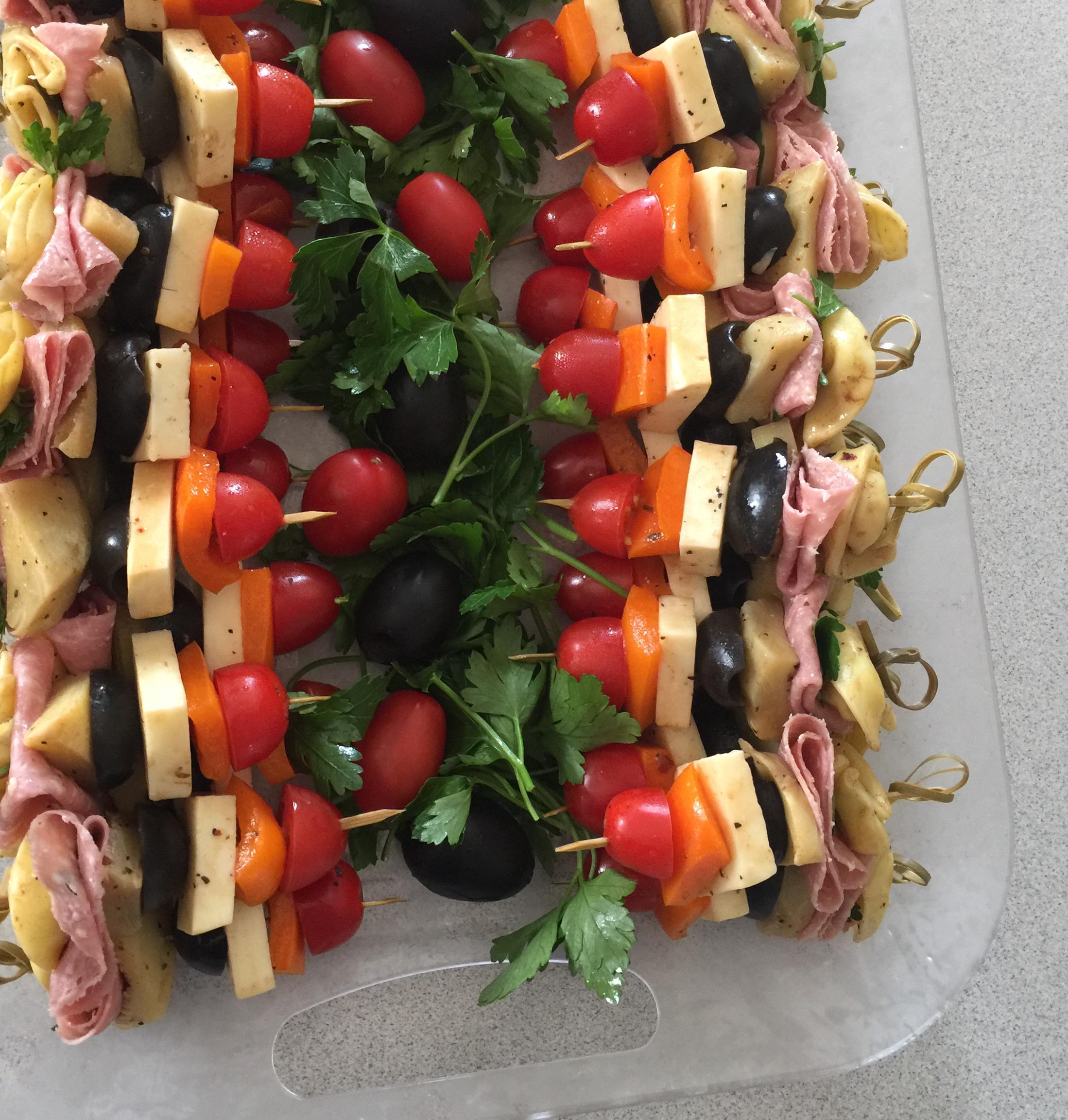 Pasta Salad on a Stick Alison Dysert Barksdale