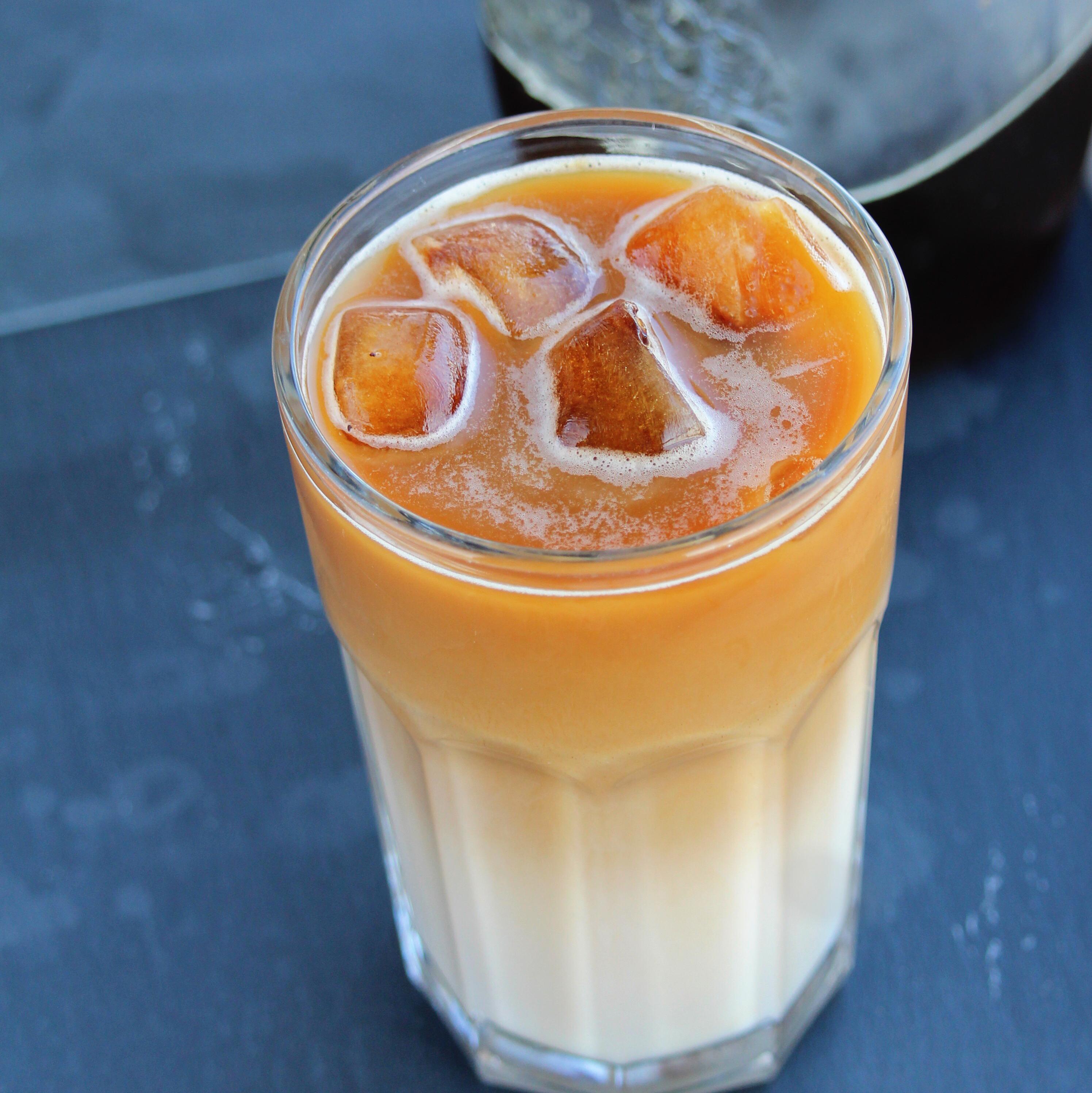 Cold Brew and Almond Milk Latte
