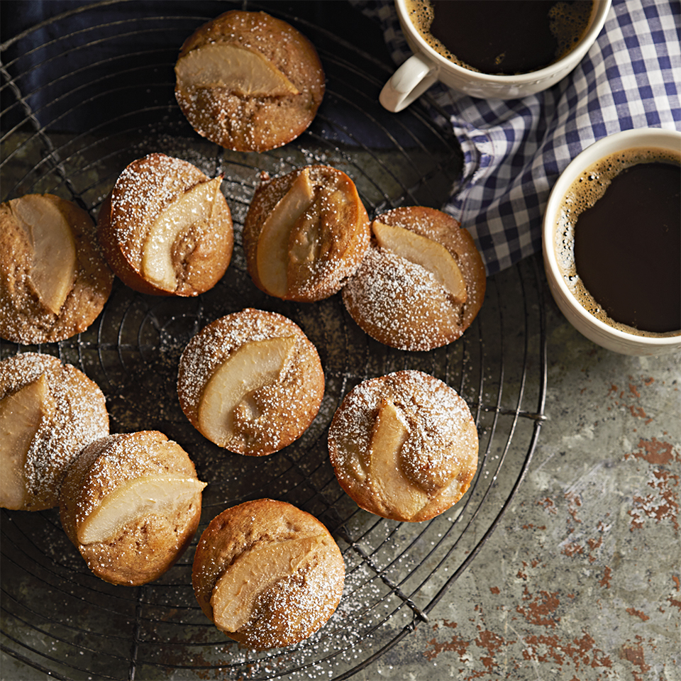 These perfectly spiced muffins make for a sweet addition to your Christmas morning spread!