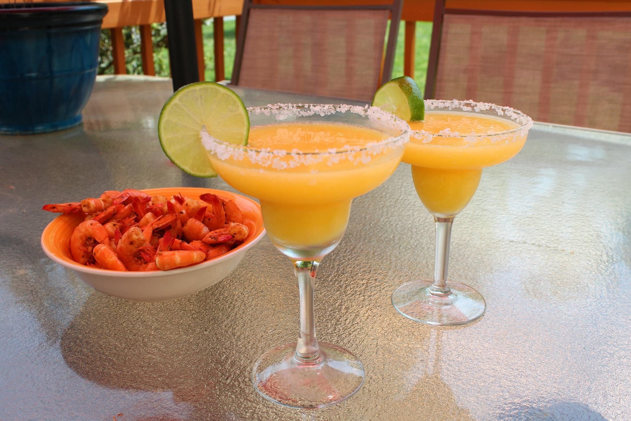 Magnificent Frozen Mango Margaritas Chef Mo