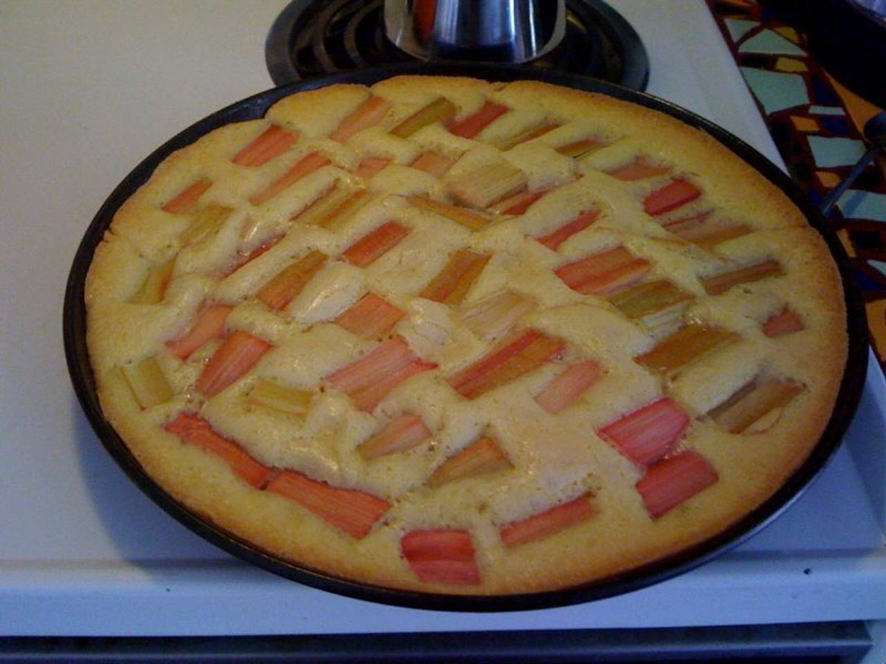 German Rhubarb Meringue Cake AllrecipesPhoto
