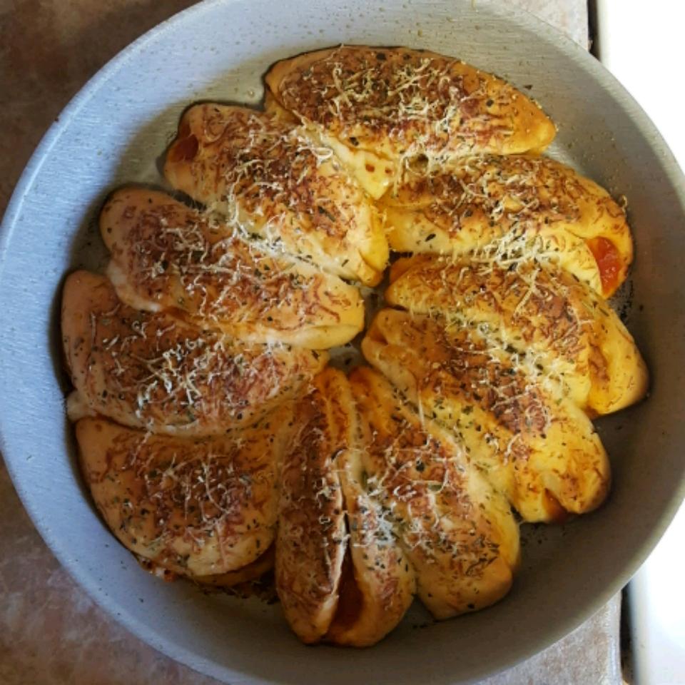 Cheesy Italian Pull Apart Bread Ed3366