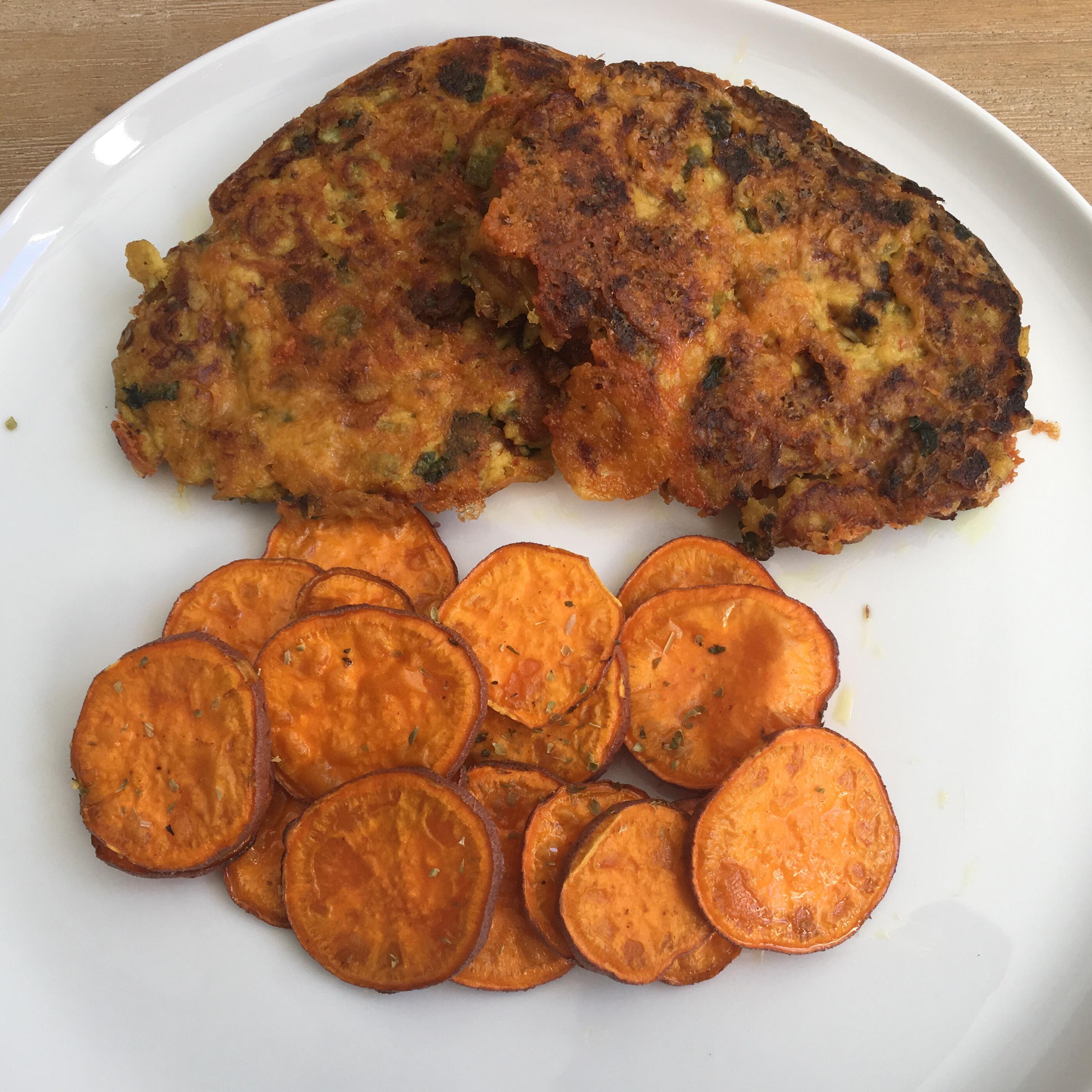 Pan Fried Tuna Patty Florenz0