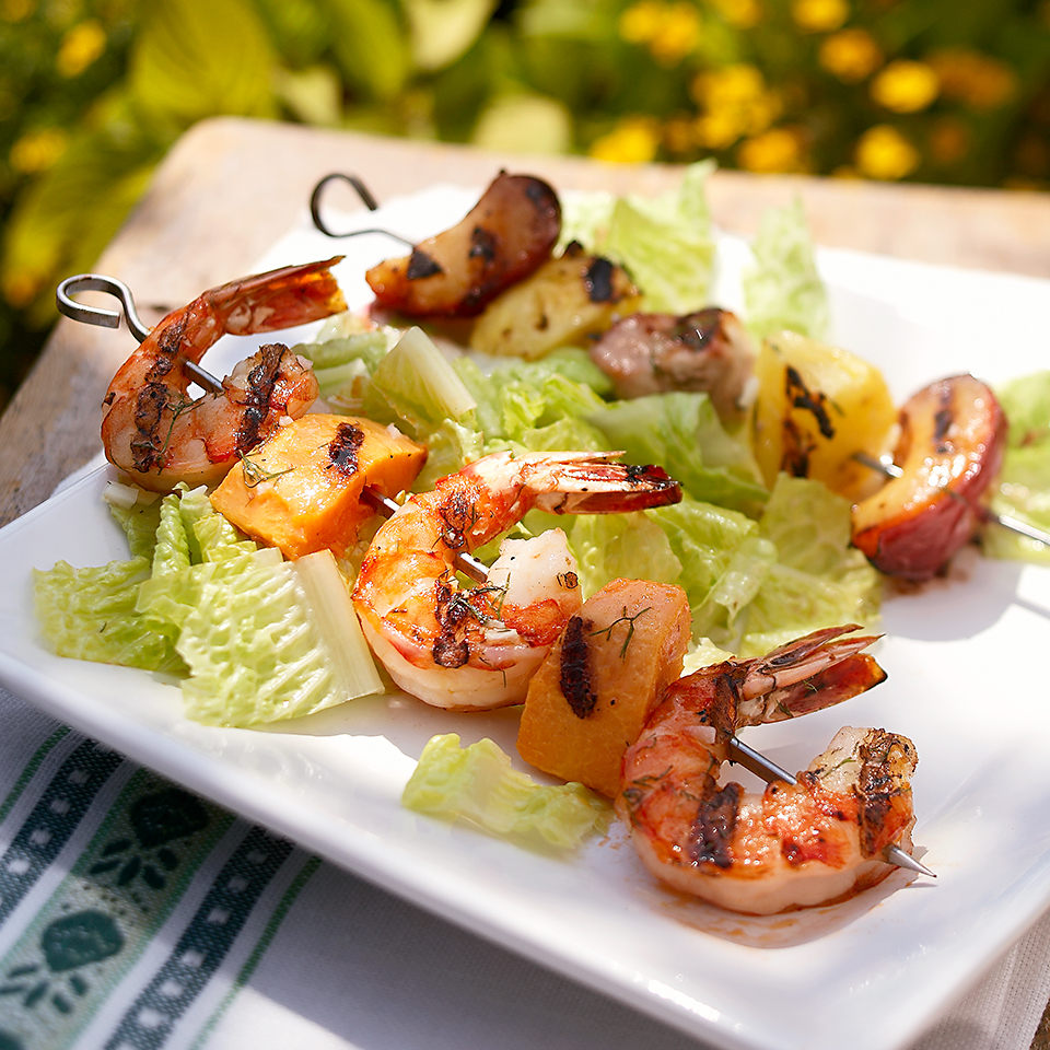 Sea-and-Shore Kabobs Diabetic Living Magazine