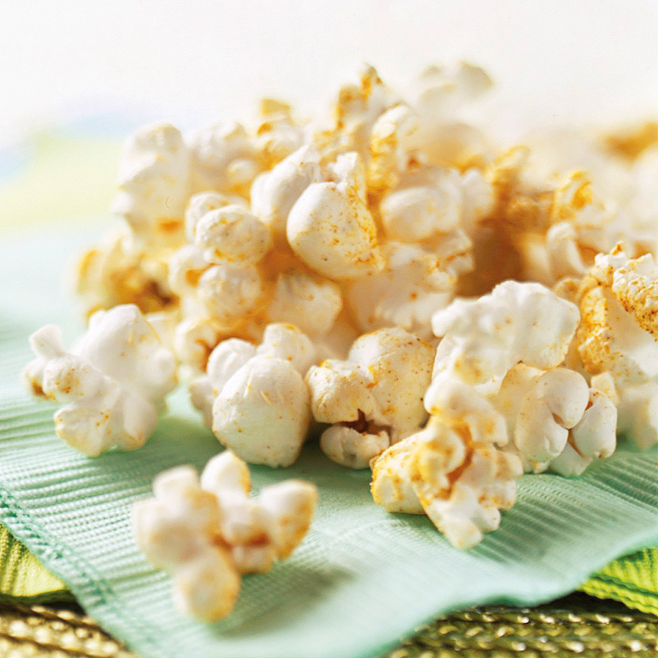 Spiced Popcorn Diabetic Living Magazine