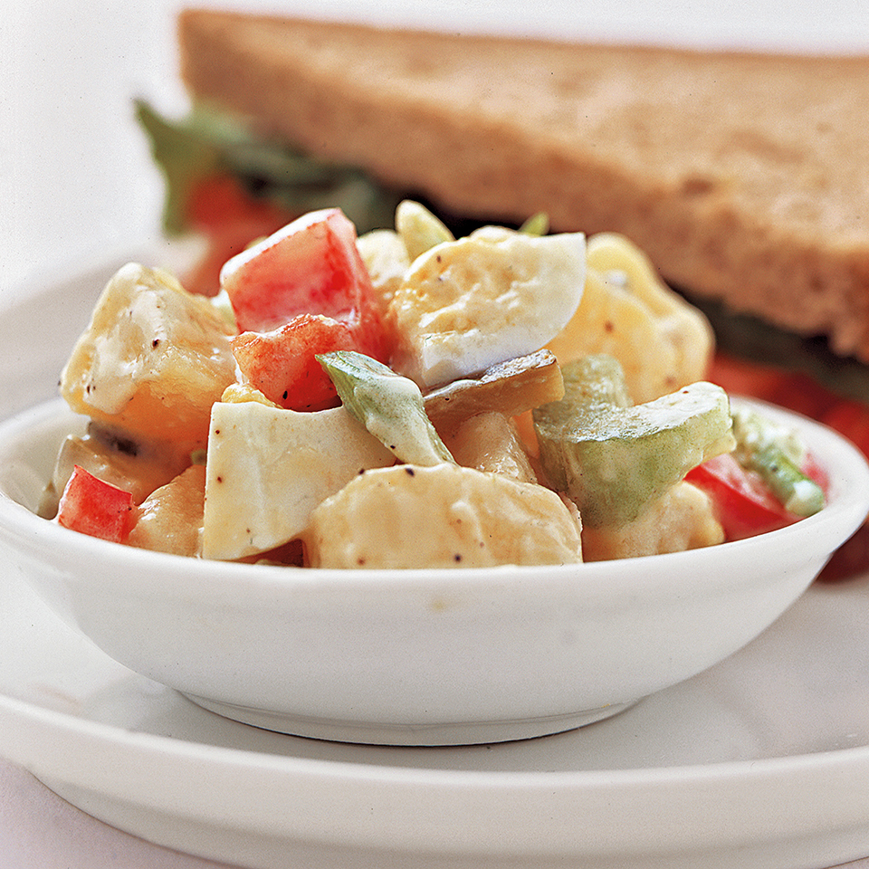 Calorie-Trimmed Potato Salad Diabetic Living Magazine