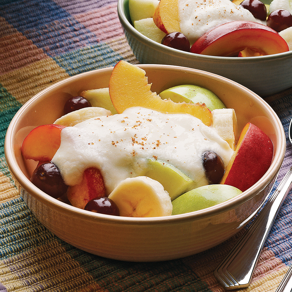 Fresh Fruit with Creamy Sauce Diabetic Living Magazine