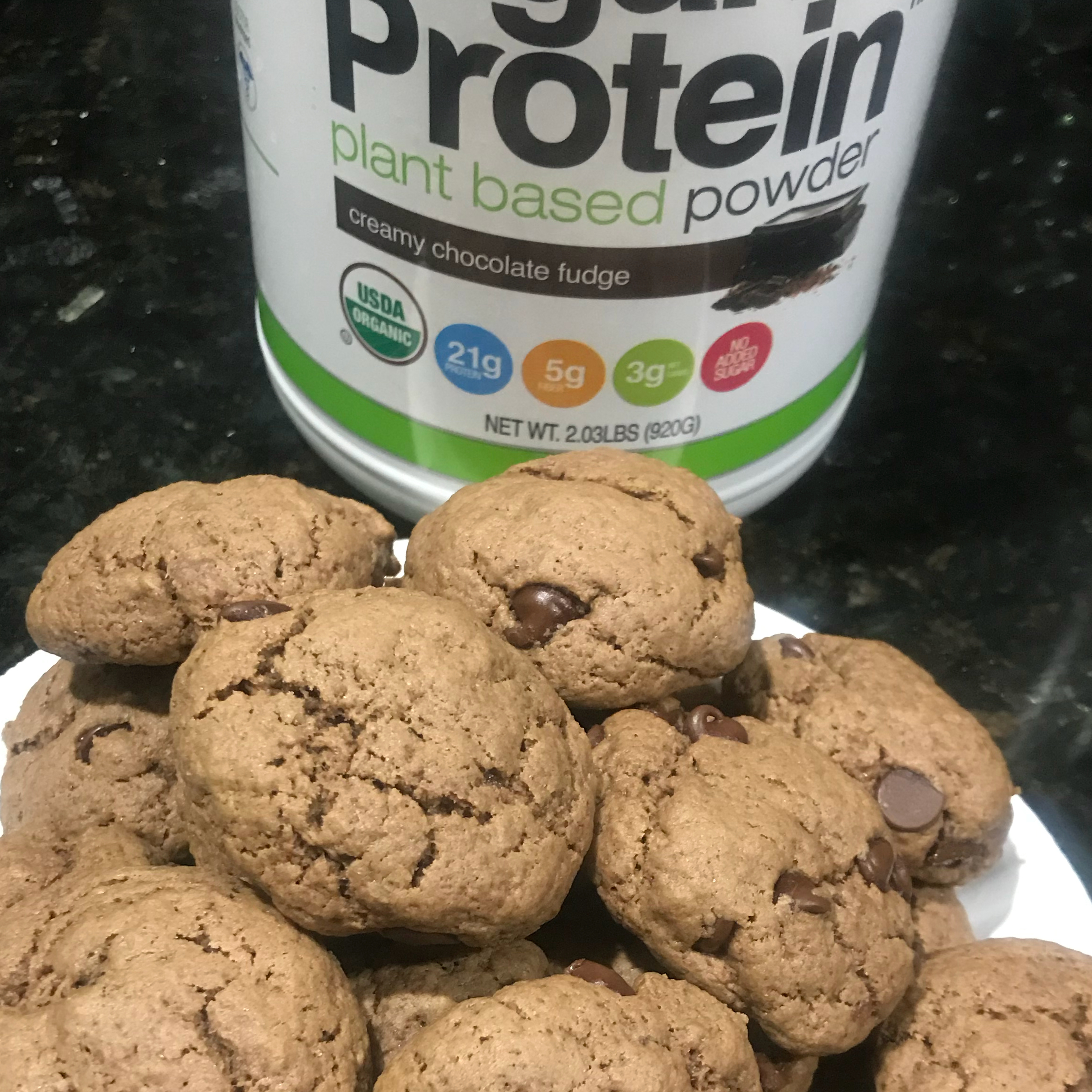 Protein Peanut Butter Chocolate Chip Cookies Kayla