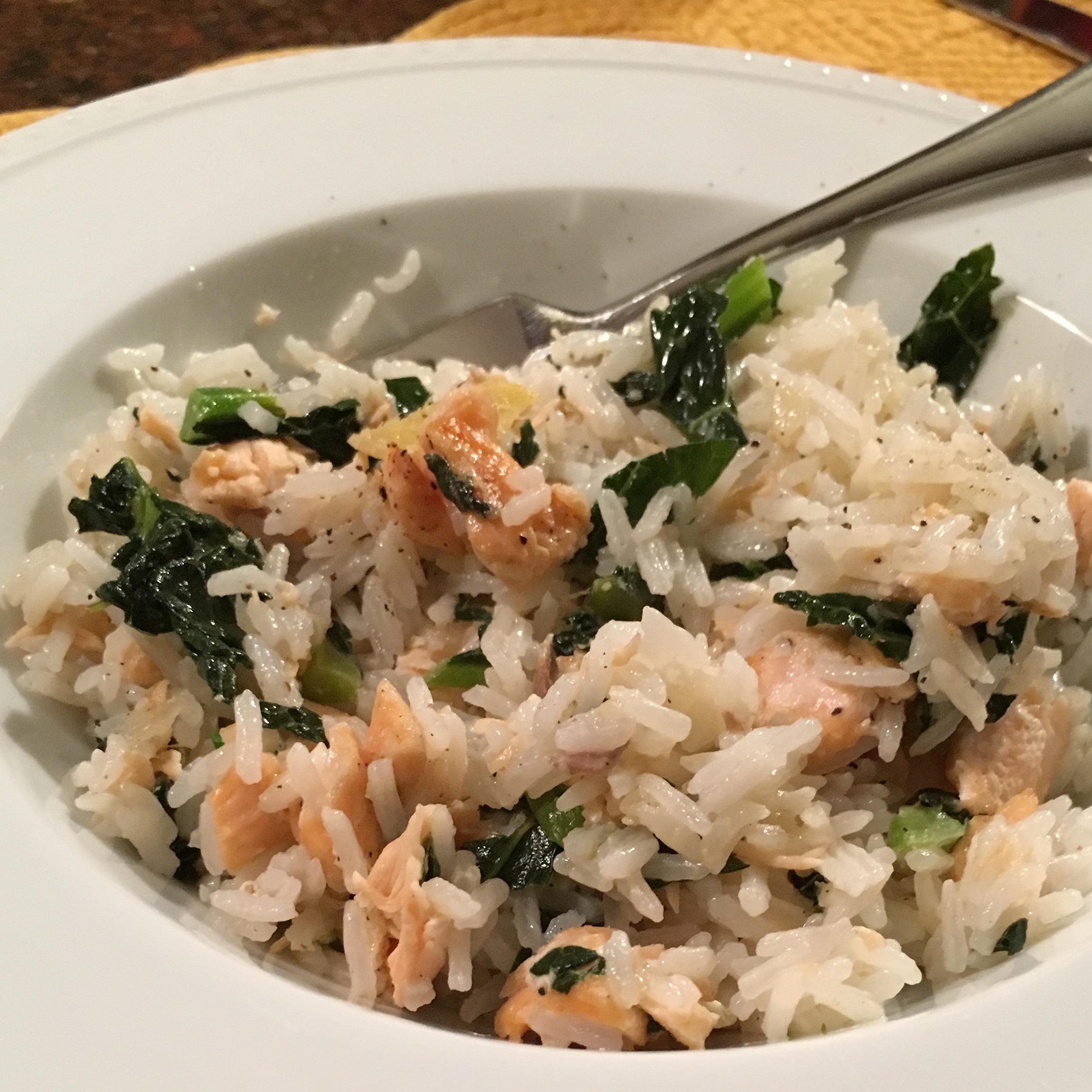 Healthy Tasty Salmon Rice Bowl