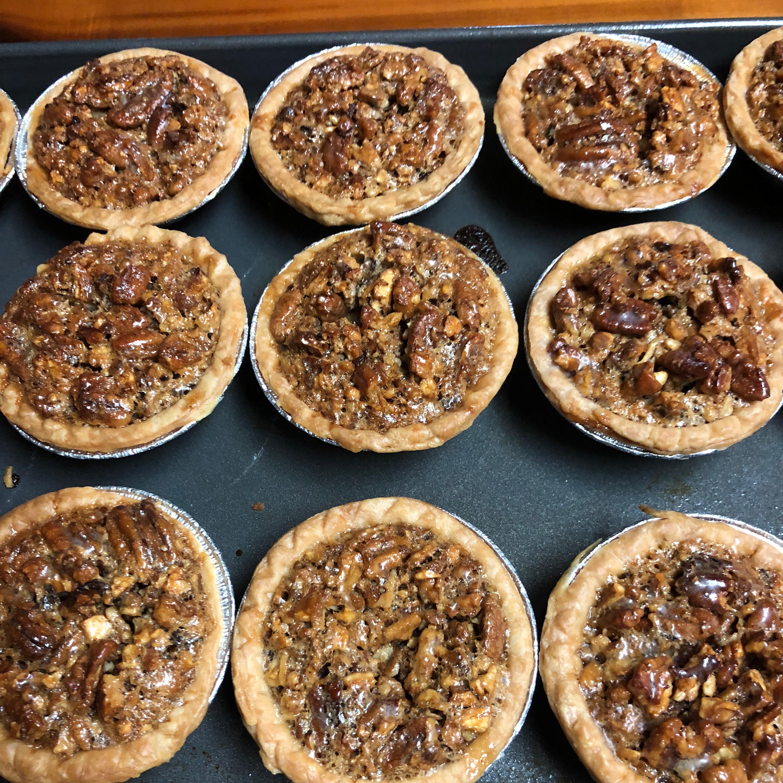 Mini Southern Pecan Pies Charlie Churchwell