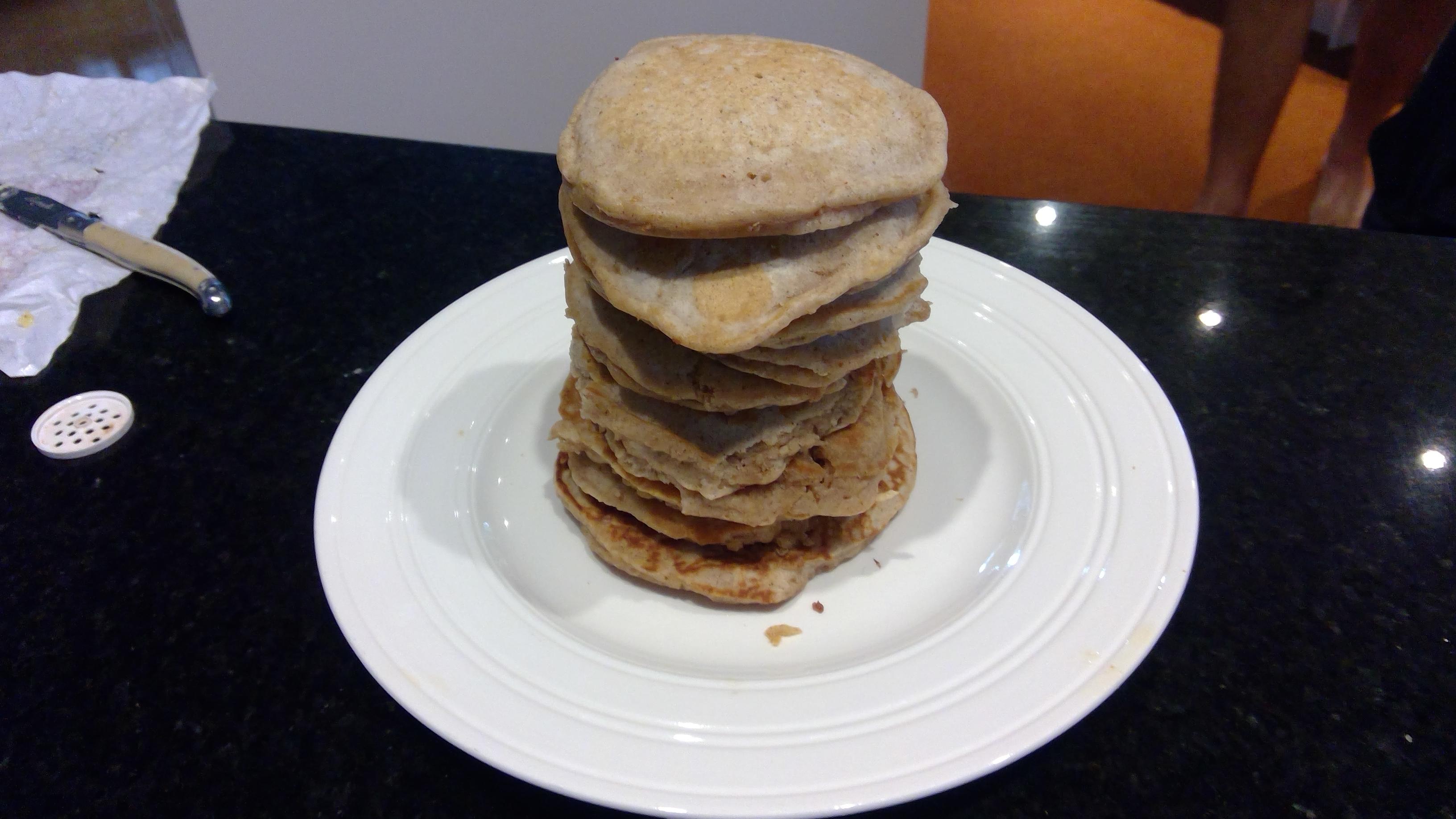 Cinnamon Griddle Cakes