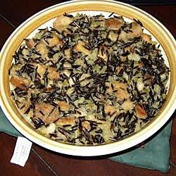 wild rice stuffing for turkey recipe