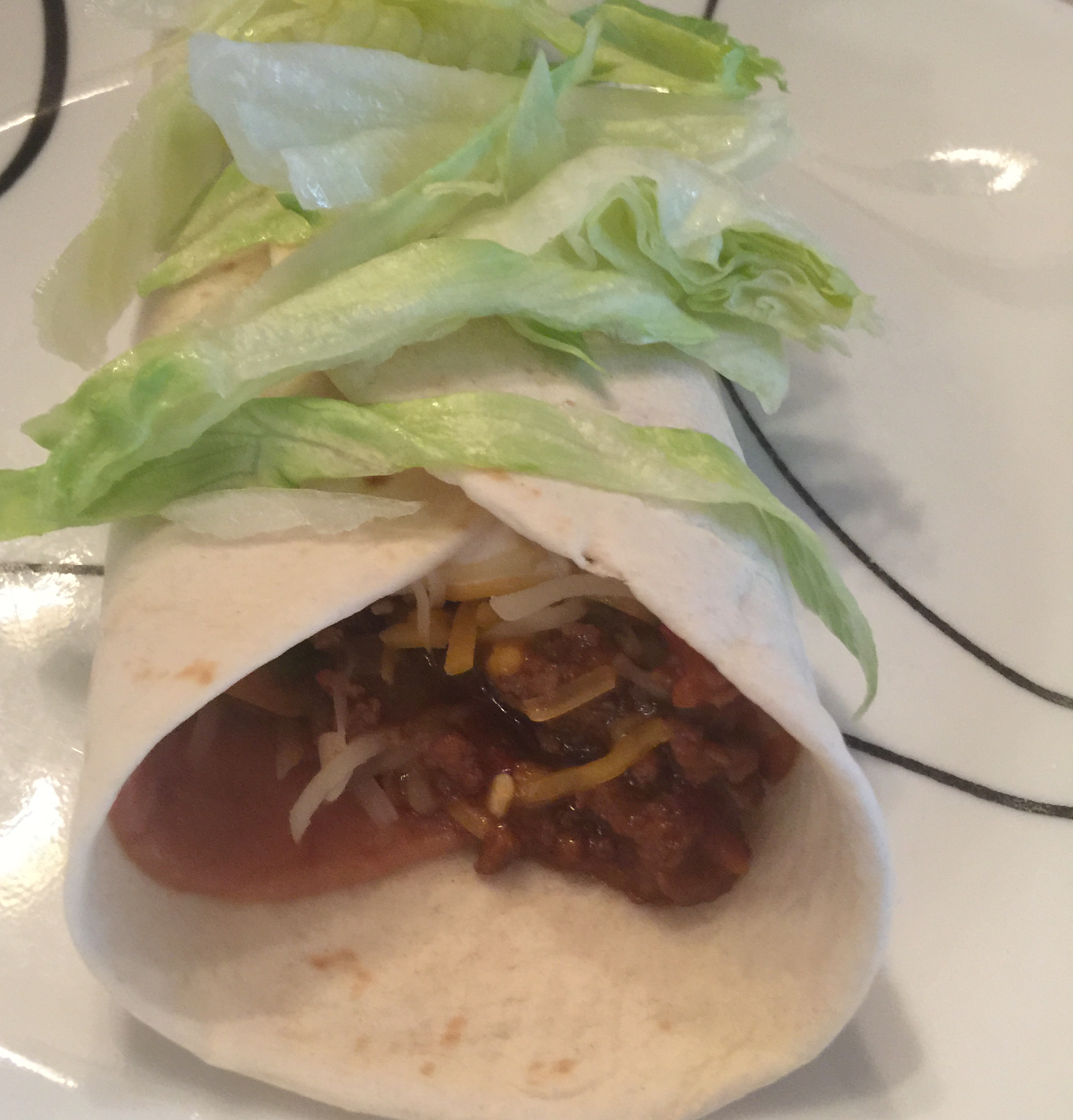 Spicy Beef Burritos doed