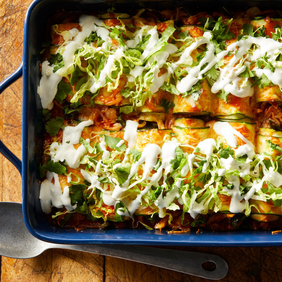 Zucchini Enchiladas Hilary Meyer