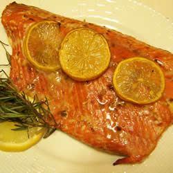 Lemon Rosemary Salmon mike j.