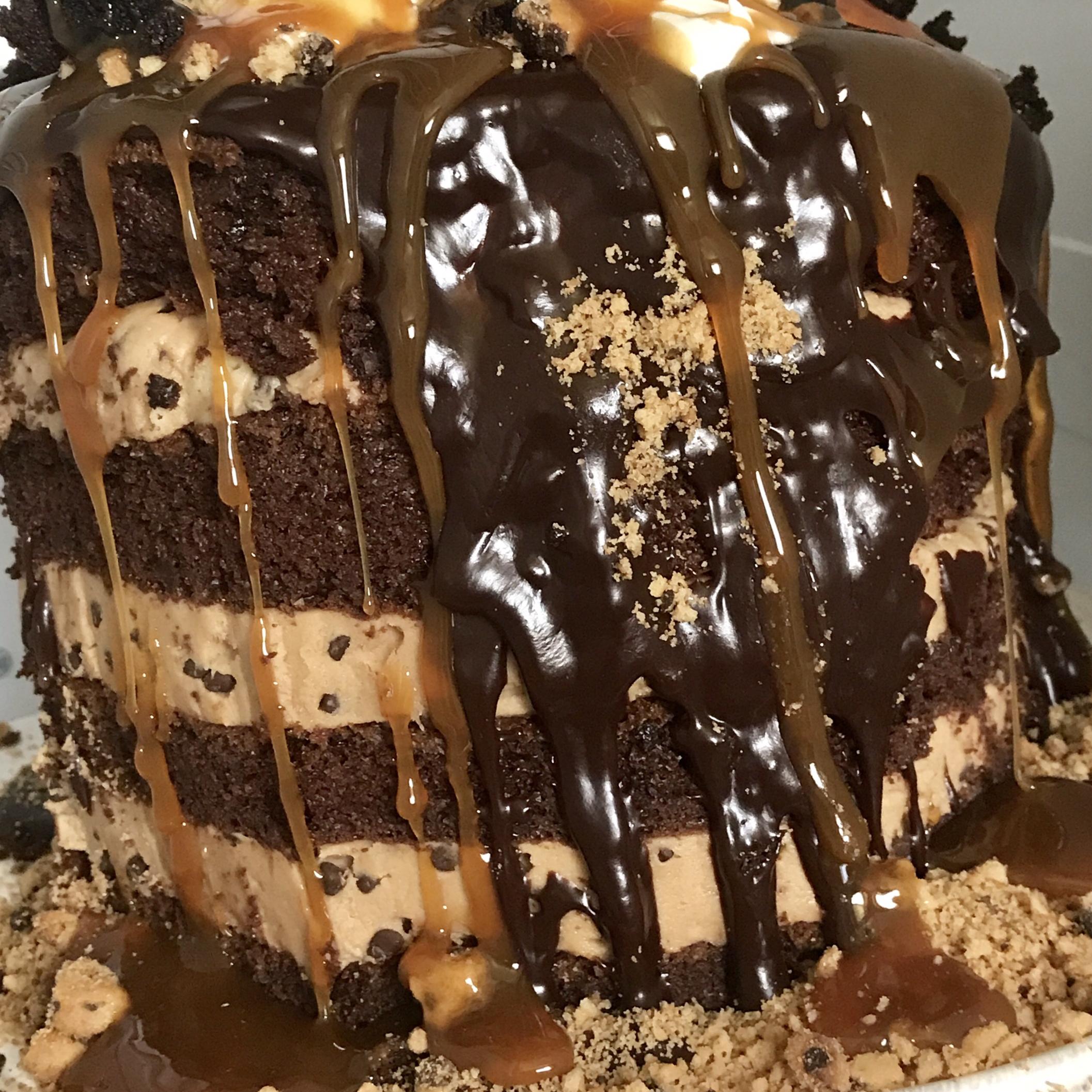 Double Chocolate Brownie Cake CydneyKymz