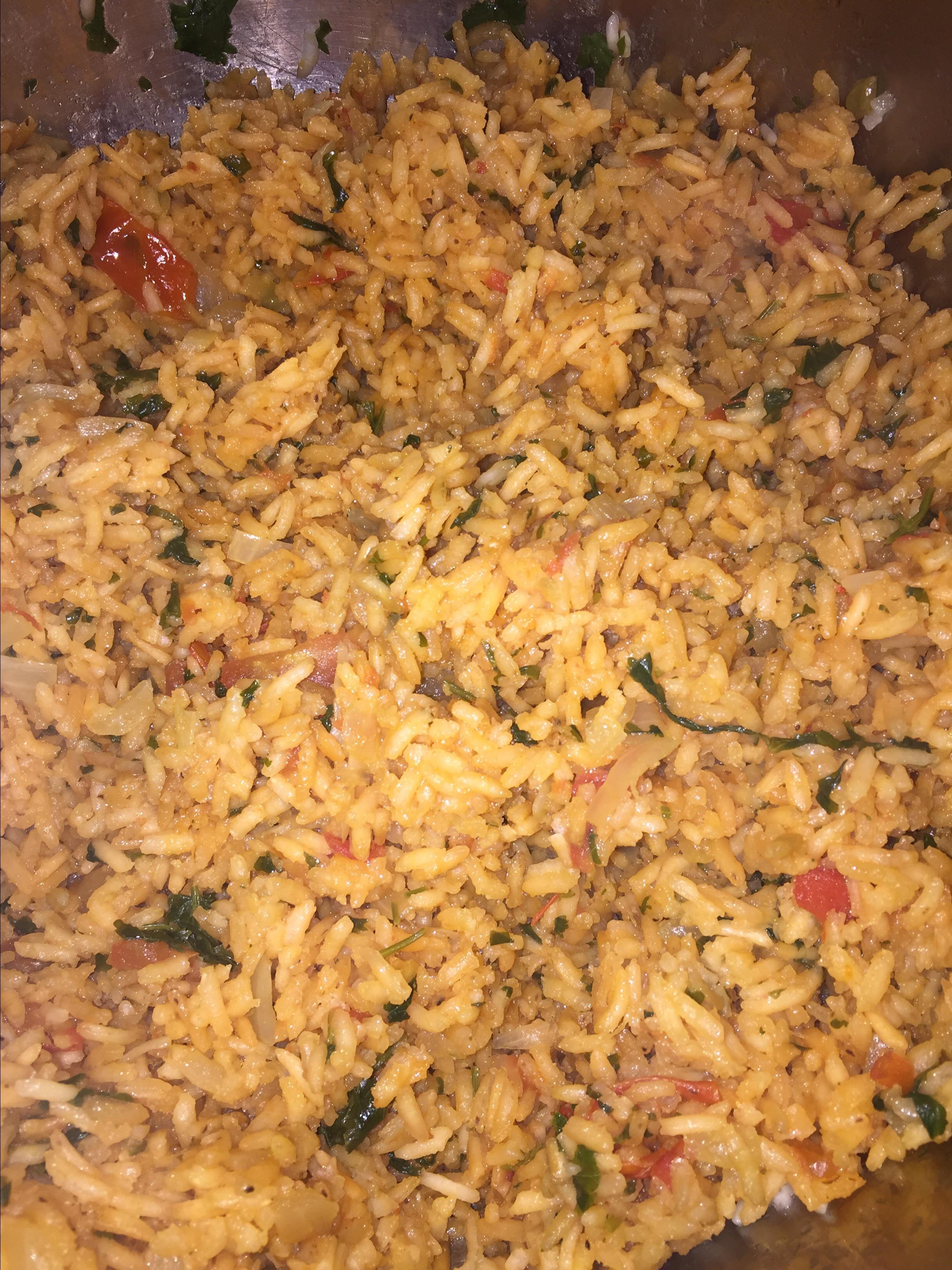 Easy Spanish Rice Michele DiMarco Tirado