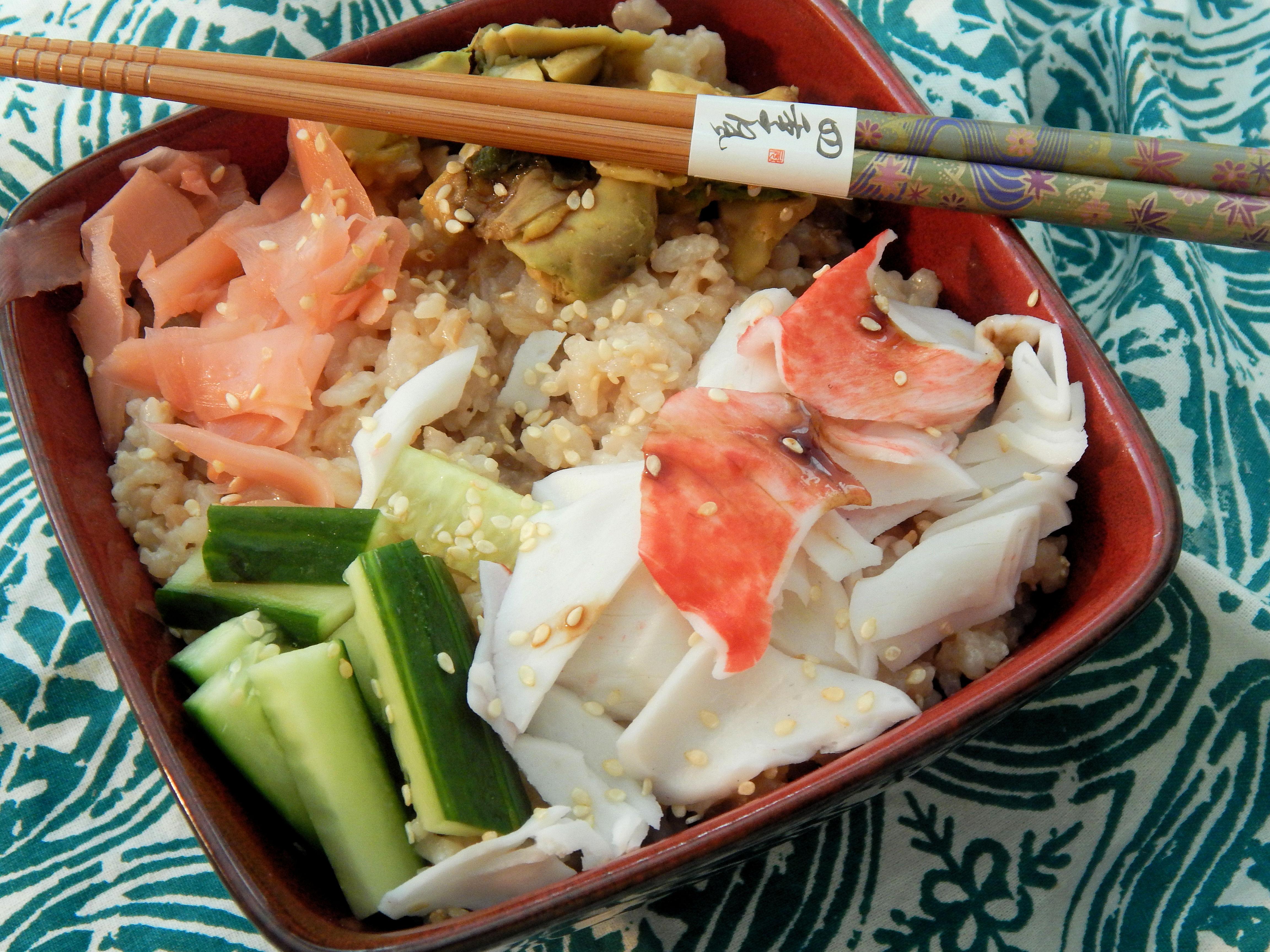 California Roll Sushi Salad