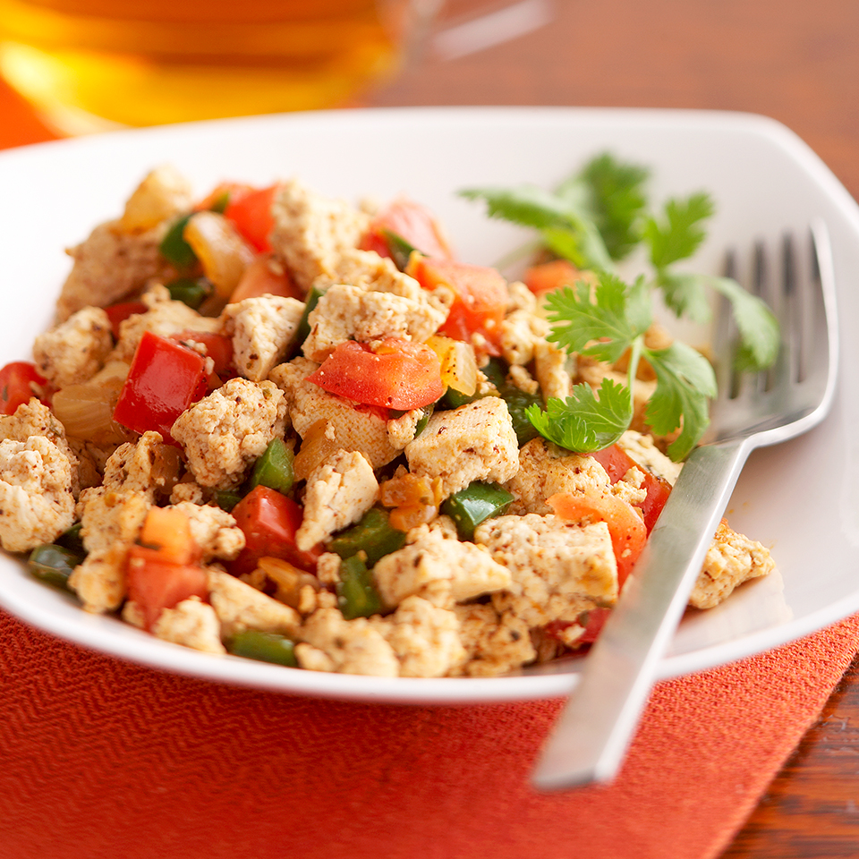 Poblano Tofu Scramble Trusted Brands