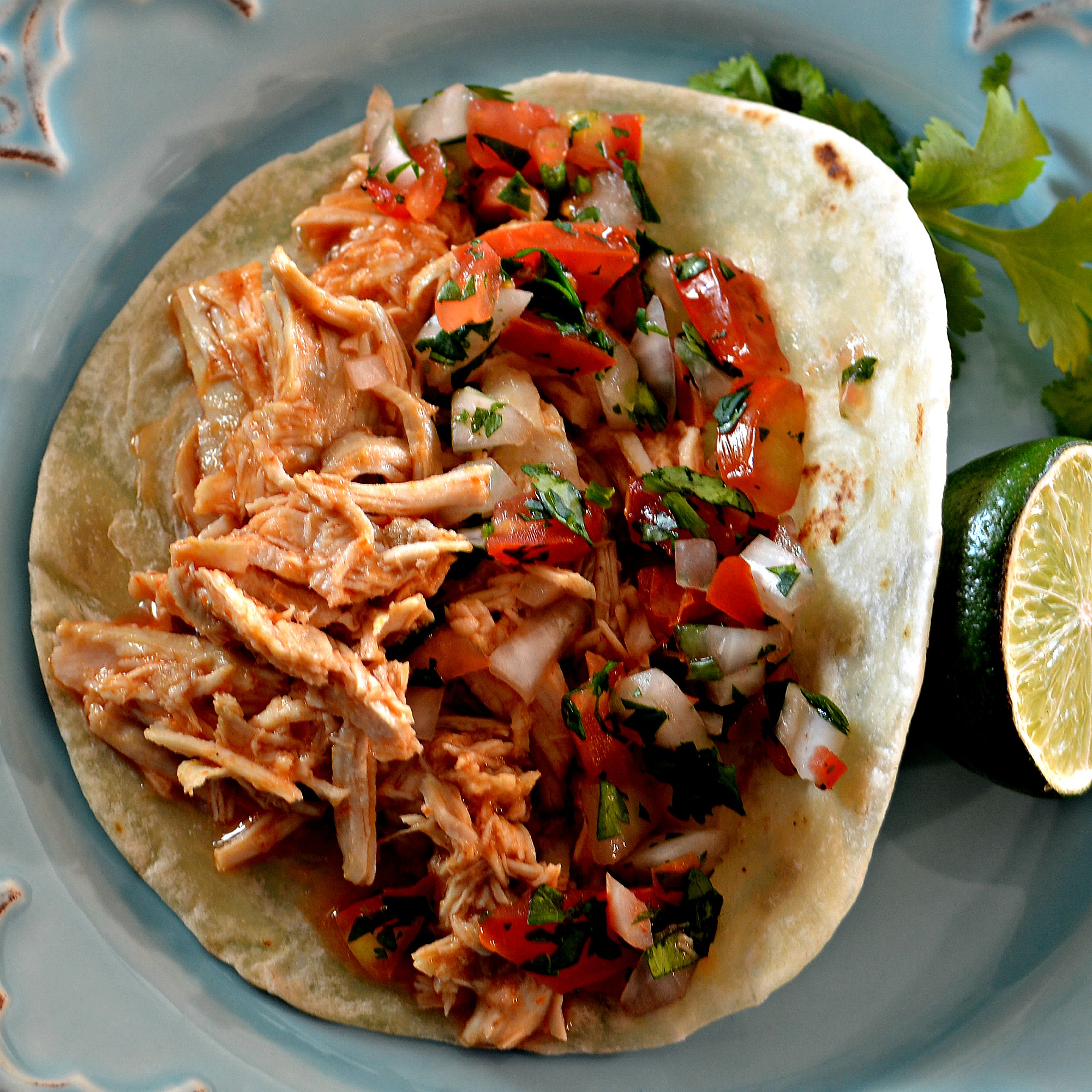 Sarah S Easy Shredded Chicken Taco Filling Recipe Allrecipes