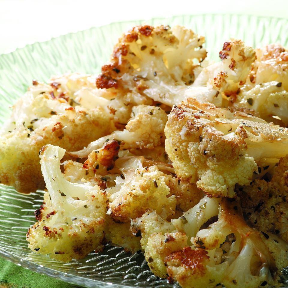 Skillet-Roasted Cauliflower