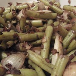 Balsamic Green Bean Salad AcaCandy