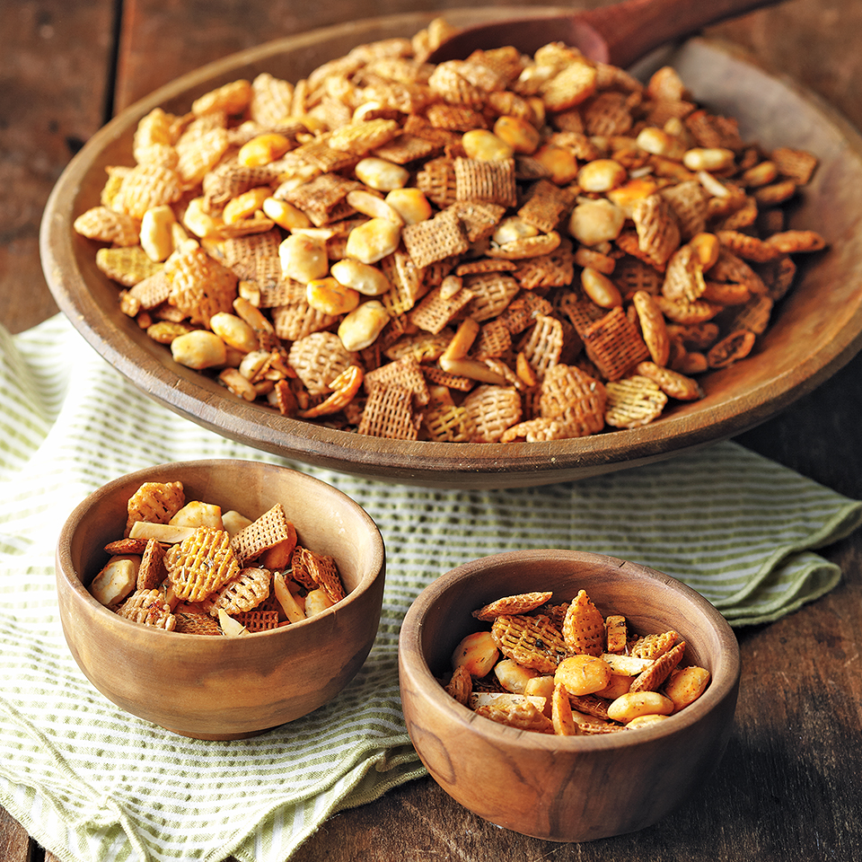 Barbecue Snack Mix Diabetic Living Magazine