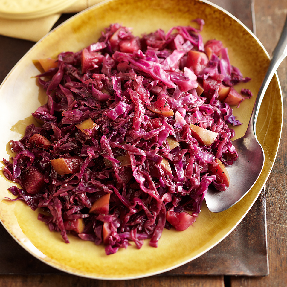 Slow-Cooked Sweet and Sour Cabbage Diabetic Living Magazine