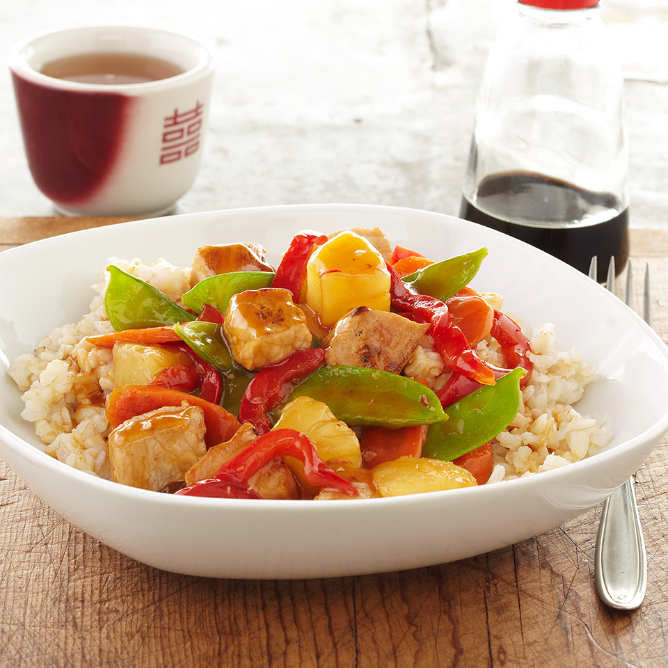 Sweet-and-Sour Pork Diabetic Living Magazine