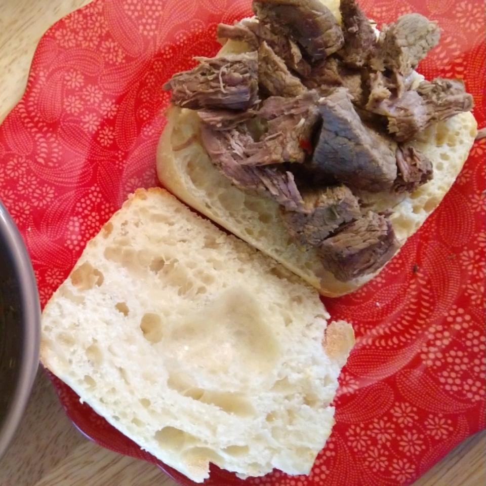Chicago-Inspired Italian Beef Sandwich WifeandChef
