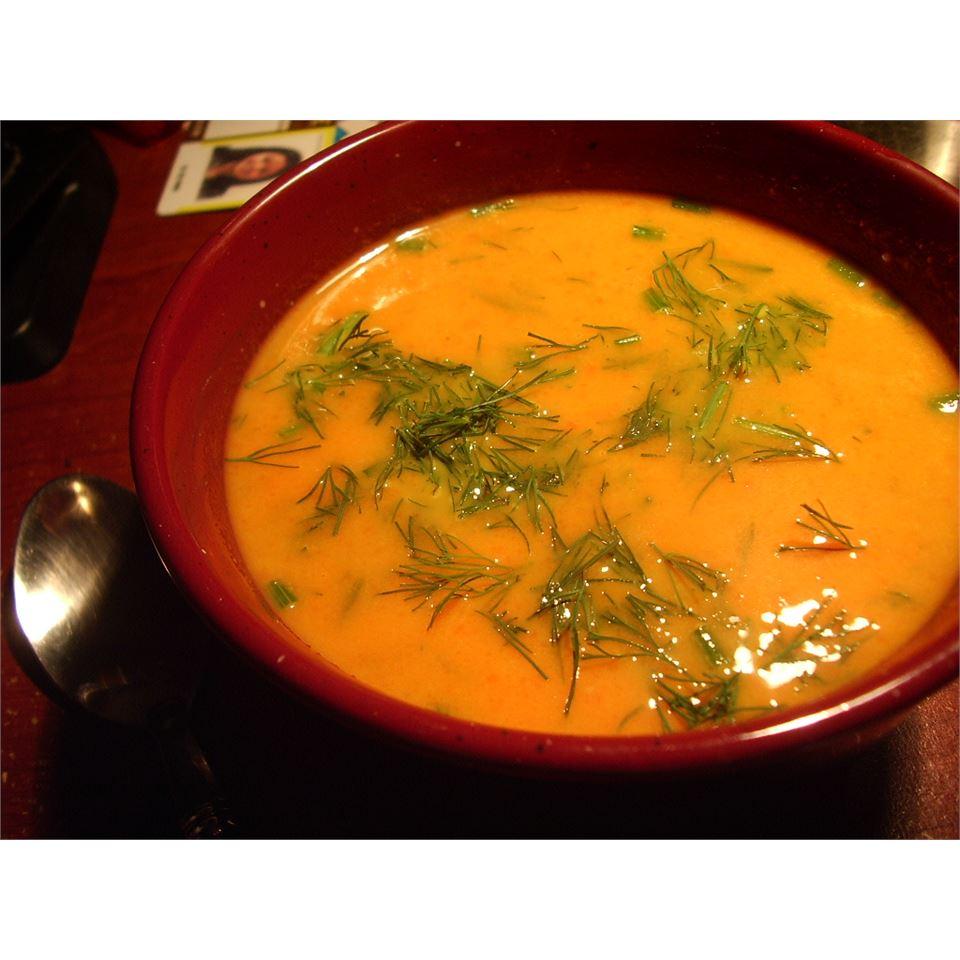 Carrot Dill Soup Vincci